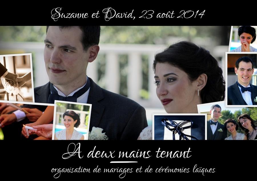 Notre cérémonie laïque (par Suzanne et David, 23 août 2014)