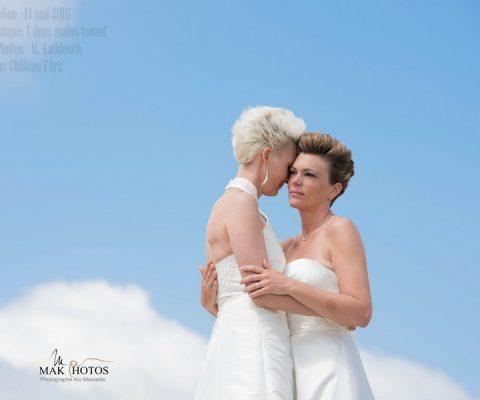 Notre cérémonie laïque {par Julie et Caroline –  14 mai 2016}
