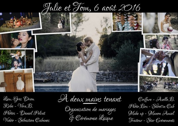 Organisation mariage A deux mains tenant