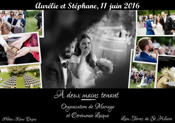 Mariage Aurélie et Stéphane - 11 juin 2016 - 600