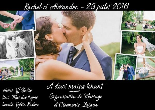 Mariage Rachel et Alexandre - 23 juillet 2016 - 600