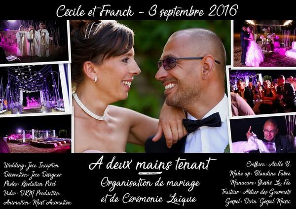 Mariage Cécile et Franck - 3 septembre 2016 - 600