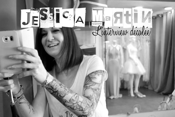 l'interview décalée avec… Jessica Martin {Créatrice Robes de Mariée}