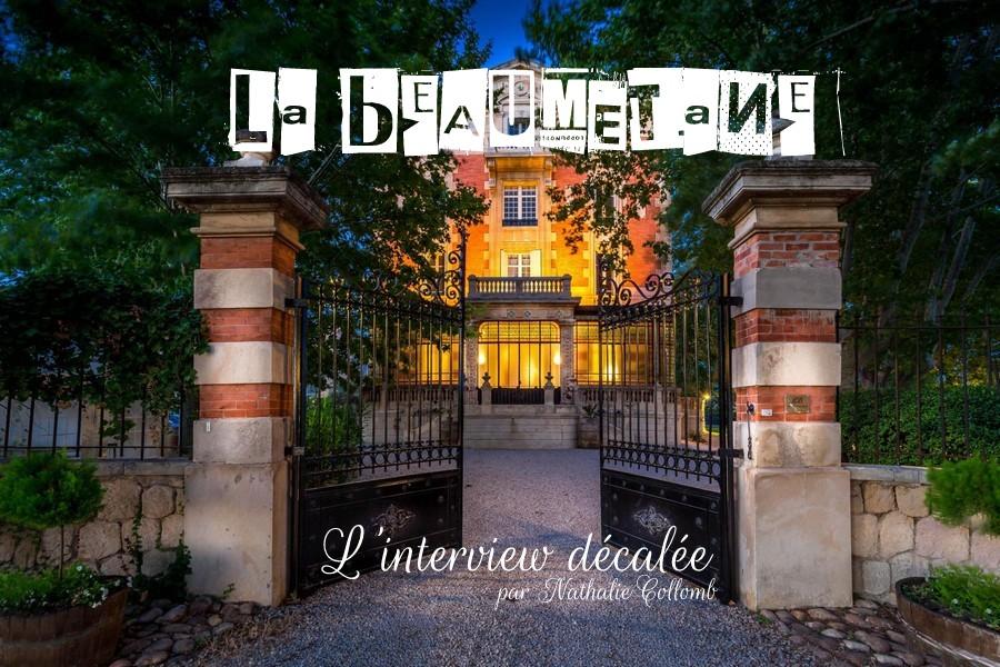 l'interview décalée avec… Nathalie du Château La Beaumetane {Lieu de réception}