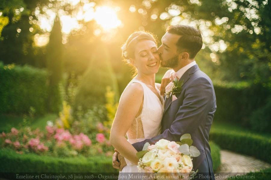 Mariage et cérémonie laïque à la Chapelle Saint-Bacchi {Emeline et Christophe, 28 juin 2018}